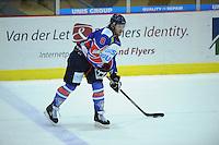 IJSHOCKEY: HEERENVEEN: IJsstadion Thialf, 02-02-2013, Eredivisie, UNIS Flyers - Amsterdam G's, Eindstand: 9-2, Jeff Martens (#8 | Flyers), ©foto Martin de Jong