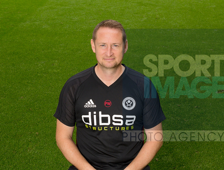 Paul Watson of Sheffield Utd during the 2017/18 Photocall at Bramall Lane Stadium, Sheffield. Picture date 7th September 2017. Picture credit should read: Sportimage