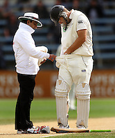 100322 International Test Cricket - New Zealand v Australia
