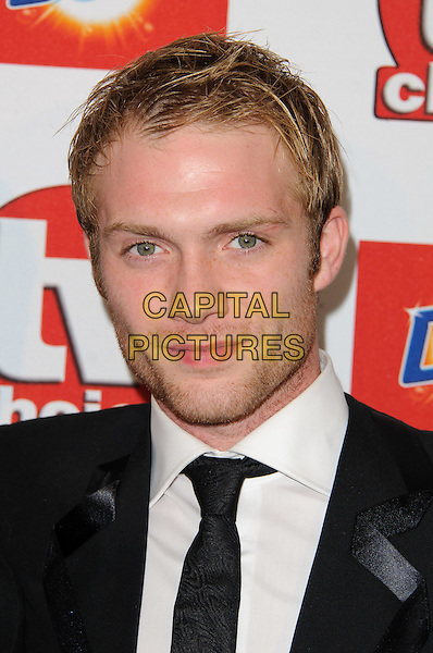 Chris Fountain.TV Choice Awards 2011 Arrivals held at the Savoy Hotel, London, England..September 13th, 2011.headshot portrait black white tie stubble facial hair.CAP/CJ.©Chris Joseph/Capital Pictures.