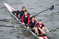 Crew: 291  Yarm Sch  Event: Junior Fours<br /> <br /> Schools' Head of the River 2017<br /> <br /> To purchase this photo, or to see pricing information for Prints and Downloads, click the blue 'Add to Cart' button at the top-right of the page.