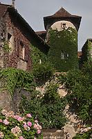 Europe/Europe/France/Midi-Pyrénées/46/Lot/Saint-Céré: Maison à tour ronde,passsage Lagarouste car elle abritait l'atelier de l'ingénieur Lagarouste nommé par LouisxVI ingénieur général de France