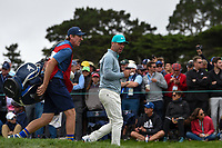 Paul Casey (GBR) heads down 9 during round 1 of the 2019 US Open, Pebble Beach Golf Links, Monterrey, California, USA. 6/13/2019.<br /> Picture: Golffile | Ken Murray<br /> <br /> All photo usage must carry mandatory copyright credit (© Golffile | Ken Murray)