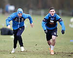 Nicky Clark and Fraser Aird
