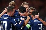 06.09.2019 Scotland v Russia, European Championship 2020 qualifying round, Hampden Park:<br /> Scott McTominay celebrates with John McGinn