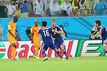 Keisuke Honda (JPN), <br /> JUNE 14, 2014 - Football /Soccer : <br /> 2014 FIFA World Cup Brazil <br /> Group Match -Group C- <br /> between Cote d'Ivoire 2-1 Japan <br /> at Arena Pernambuco, Recife, Brazil. <br /> (Photo by YUTAKA/AFLO SPORT) [1040]