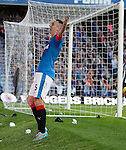 Lee Wallace celebrates goal no 2