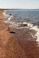 S&uuml;dufer des Issyk Kul, Kirgistan, Asien<br /> south bank pf Issyk Kul lake, Kirgistan, Asia