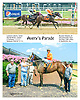 Avery's Parade winning at Delaware Park on 8/17/15
