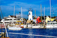 Marina Del Rey CA Man-Made Boat Harbor