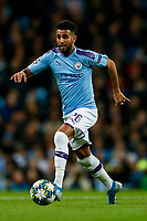 Riyad Mahrez of Manchester City during the UEFA Champions League Group C match between Manchester City and Dinamo Zagreb at the Etihad Stadium on October 1st 2019 in Manchester, England. (Photo by Daniel Chesterton/phcimages.com)<br /> Foto PHC/Insidefoto <br /> ITALY ONLY