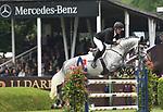 30.05.2019,  GER;  Deutsches Spring- und Dressur-Derby, Mercedes-Benz Championat of Hamburg, im Bild Shane Breen (IRL) auf Colmar Foto © nordphoto / Witke