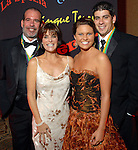 "George and Tammy Childress with Donnie Childress and Lauren Schattel at the San Luis Salute to ""The Italian Riviera"" at the Galveston Island Convention Center at the San Luis Friday  Feb. 20, 2009.(Dave Rossman/For the Chronicle)"