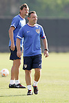 12 March 2008: United States U-23 Head Coach Peter Nowak (POL). The United States U-23 Men's National Team practiced at the Tampa Bay Buccaneers training facility in Tampa, FL on an off day in the 2008 CONCACAF Men's Olympic Qualifying Tournament.