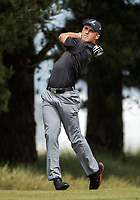 Luke Brown during the New Zealand Amateur Golf Championship at Russley Golf Course, Christchurch, New Zealand. Wednesday 1 November 2017. Photo: www.bwmedia.co.nz