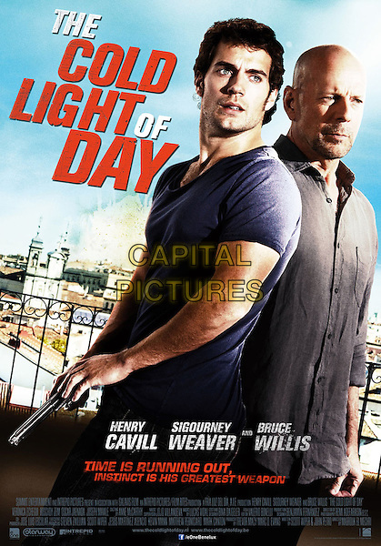 POSTER ART.in The Cold Light of Day (2012) .*Filmstill - Editorial Use Only*.CAP/FB.Supplied by Capital Pictures.