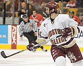 Dan Bertram - The Boston College Eagles defeated the Northeastern University Huskies 5-2 in the opening game of the 2006 Beanpot at TD Banknorth Garden in Boston, MA, on February 6, 2006.