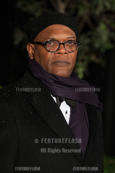 Samuel L Jackson arriving for the 2013 BAFTA After Party, Grosvenor House Hotel.Park Lane, London. 10/02/2013 Picture by: Simon Burchell / Featureflash