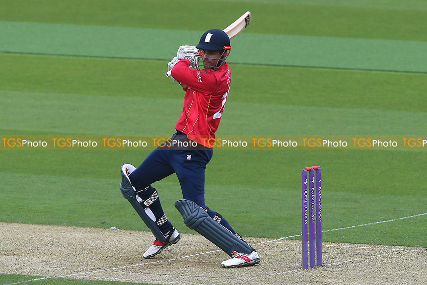 Alastair Cook in batting action for Essex during Surrey vs Essex Eagles, Royal London One-Day Cup Cricket at the Kia Oval on 2nd May 2017