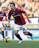 Bologna's Davide Bombardini during their italian serie A soccer match at Dall'Ara Stadium in Bologna , Italy , February 21 , 2009 - Photo: Prater/Insidefoto ©