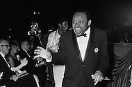 19 Jan 1969, Washington, DC, USA. Prominent jazz musician Lionel Hampton attends the pre-inaugural ball for President Nixon in Washington, DC.