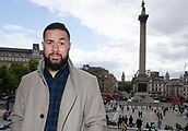 12th September 2017, London, England; Joseph Parker London Walkabout; Joseph Parker goes for walkabout through London in the buildup to his WBO Heavyweight clash