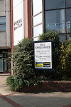 Focal Point office block in central Swindon, England, UK high quality office space to let sign