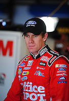 Oct 3, 2008; Talladega, AL, USA; NASCAR Sprint Cup Series driver Carl Edwards during practice for the Amp Energy 500 at the Talladega Superspeedway. Mandatory Credit: Mark J. Rebilas-