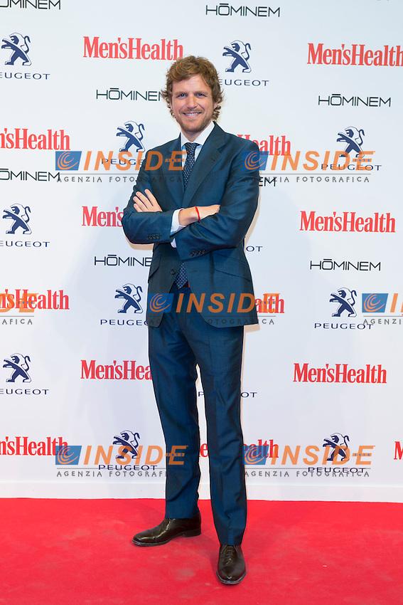 Alvaro de la Lama attend the MENS HEALTH AWARDS at Goya Theatre in Madrid, Spain. October 28, 2014. (ALTERPHOTOS/Carlos Dafonte/Insidefoto)