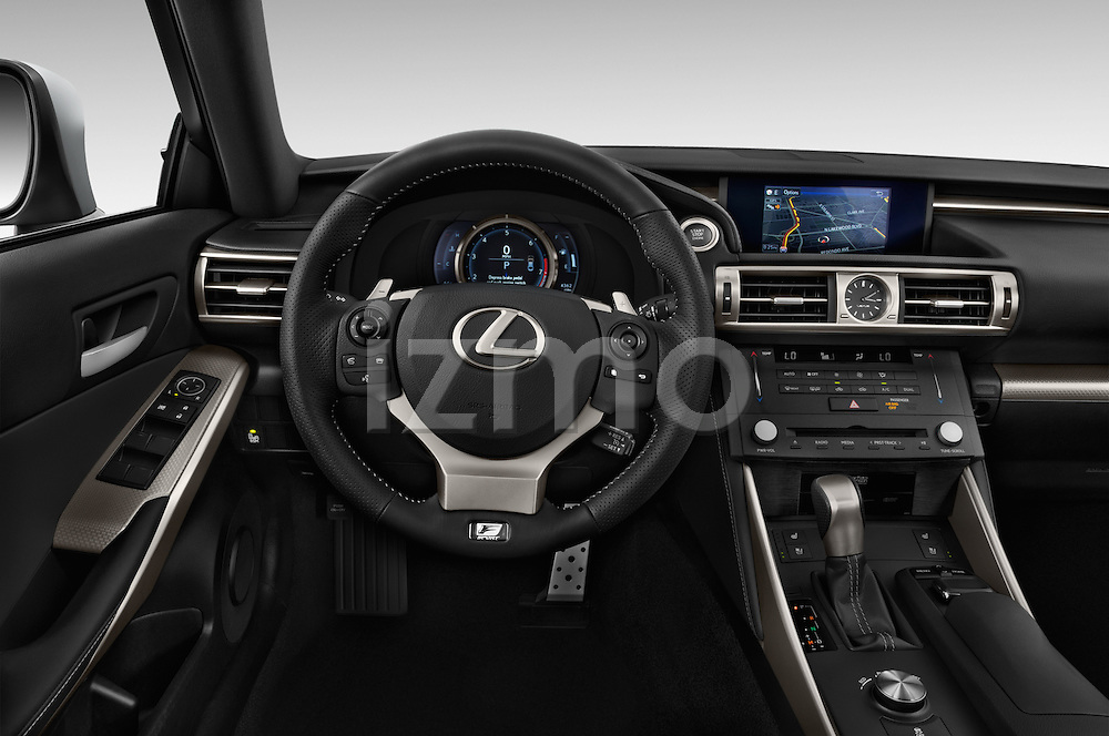 Car pictures of steering wheel view of a 2015 Lexus LS 350 F Sport 4 Door Sedan Steering Wheel