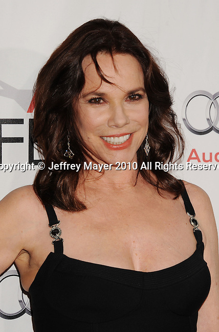 "HOLLYWOOD, CA. - November 11: Barbara Hershey arrives at the ""Black Swan"" screening during AFI Fest 2010 Closing Night Gala at Grauman's Chinese Theatre on November 11, 2010 in Hollywood, California."