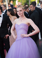 Elle Fanning at the premiere for &quot;The Beguiled&quot; at the 70th Festival de Cannes, Cannes, France. 24 May 2017<br /> Picture: Paul Smith/Featureflash/SilverHub 0208 004 5359 sales@silverhubmedia.com