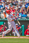 2 March 2013: St. Louis Cardinals catcher Yadier Molina in action during a Spring Training game against the Washington Nationals at Roger Dean Stadium in Jupiter, Florida. The Nationals defeated the Cardinals 6-2 in their first meeting since the NLDS series in October of 2012. Mandatory Credit: Ed Wolfstein Photo *** RAW (NEF) Image File Available ***
