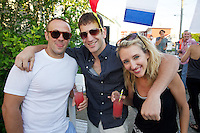 Justin Gerarrity, Dante Mazzetti, Jessica Mazzetti / Cynthia Rowley, Pret a Surf, Sleepy Jones and Grass Root Juices Summer Cocktail Party