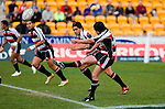 Blair Feeney kicks off in the Air NZ Cup game between Counties Manukau & Otago played at Mt Smart Stadium,Auckland on the 29th of July 2006. Otago won 23 - 19.