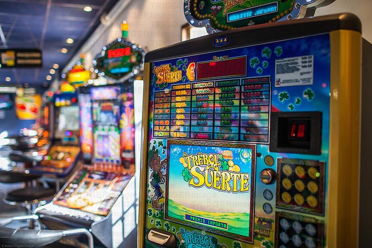 Gambling hall, Guadalajara, Spain