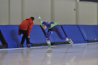 SPEED SKATING: SALT LAKE CITY: 18-11-2015, Utah Olympic Oval, ISU World Cup, training, Janneke Ensing (NED), ©foto Martin de Jong