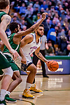 19 January 2019: University of Vermont Catamount Forward Anthony Lamb, a Junior from Toronto, Ontario, in first half Men's Basketball action against the Binghamton University Bearcats at Patrick Gymnasium in Burlington, Vermont. The Catamounts defeated the Bearcats 78-50 to remain unbeaten in conference play to date this season. Mandatory Credit: Ed Wolfstein Photo *** RAW (NEF) Image File Available ***