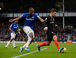 \ev15\ challenges Christian Pulisic of Chelsea during the Premier League match at Bramall Lane, Sheffield. Picture date: 5th December 2019. Picture credit should read: Simon Bellis/Sportimage