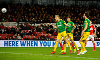Preston North End's Jayden Stockley scores his side's second goal <br /> <br /> Photographer Alex Dodd/CameraSport<br /> <br /> The EFL Sky Bet Championship - Middlesbrough v Preston North End - Wednesday 13th March 2019 - Riverside Stadium - Middlesbrough<br /> <br /> World Copyright &copy; 2019 CameraSport. All rights reserved. 43 Linden Ave. Countesthorpe. Leicester. England. LE8 5PG - Tel: +44 (0) 116 277 4147 - admin@camerasport.com - www.camerasport.com