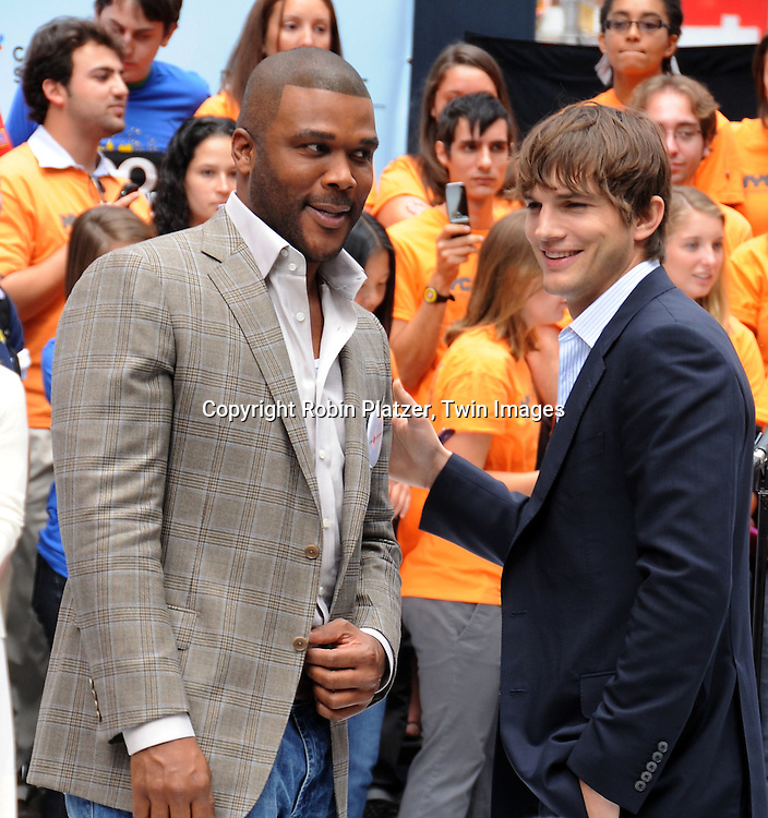 Tyler Perry and Ashton Kutcher