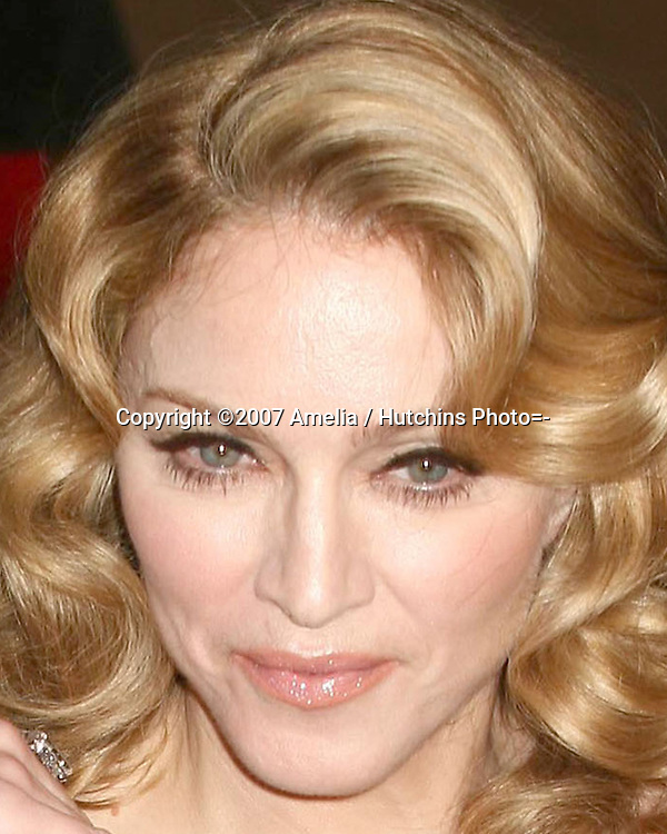 Madonna.79th Academy Awards, 2007.Kodak Theater.Los Angeles, CA.February 25, 2007.©2007 Amelia / Hutchins Photo....                 Madonna.2007 Vanity Fair Oscar Party.Mortons Resturant.W Hollywood, CA.February 25, 2007.©2007 Amelia / Hutchins Photo....