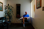 Dr. Michael Bowers poses for a portrait in his dental office in Ventura, California August 3, 2015. <br /> (Photo by Kendrick Brinson)