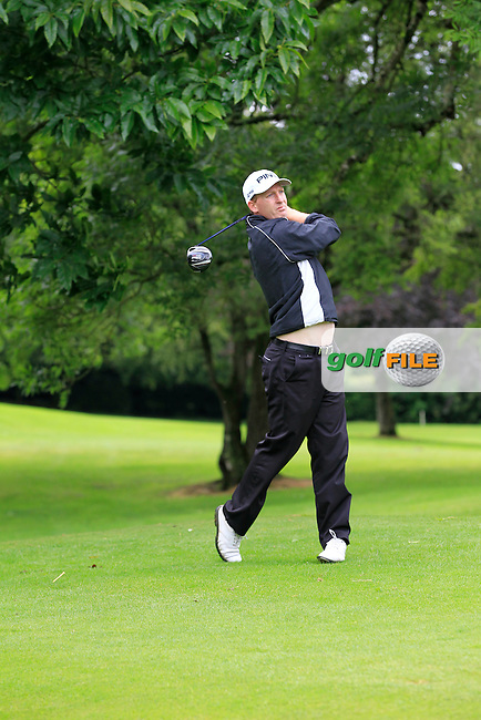 Gerard Lawlor (Craddockstown) on the 3rd tee during round 1 of The Mullingar Scratch Cup in Mullingar Golf Club on Sunday 3rd August 2014.<br /> Picture:  Thos Caffrey / www.golffile.ie