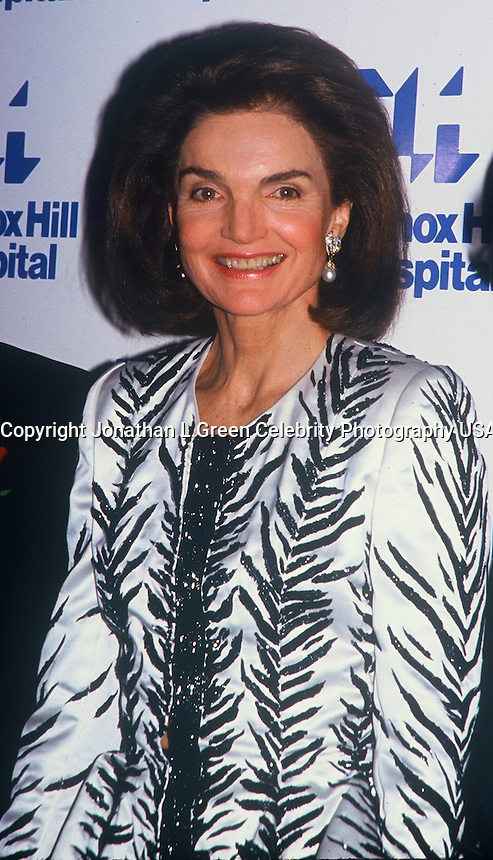 Jackie Kennedy Onassis<br /> At Hospital Fundraiser In<br /> NYC