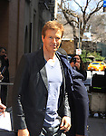 Hospital's Jack Wagner taped Katie Couric's Talk Show on April 2, 2013 in New York City, New York. Fans came to the show and were outside the studio to greet the actors as they left. (Photo by Sue Coflin/Max Photos)