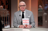 American writer Michael Wolff<br /> Roma 15/02/2018. Trasmissione tv 'Otto e Mezzo'.<br /> Rome February 15th 2018. Talk show 'Otto e Mezzo'.<br /> Foto Samantha Zucchi Insidefoto
