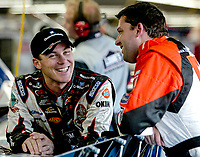 Kevin Harvick, Tony Stewart, UAW-GM Quality 500, Charlotte Motor Speedway, Charlotte, NC, October 11, 2003.  (Photo by Brian Cleary/bcpix.com)