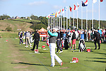 ISPS Handa Wales Open<br /> Driving range<br /> Celtic Manor Resort<br /> 21.09.14<br /> &copy;Steve Pope-SPORTINGWALES