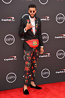 JaVale McGee at the 2018 ESPY Awards at the Microsoft Theatre LA Live, Los Angeles, USA 18 July 2018<br /> Picture: Paul Smith/Featureflash/SilverHub 0208 004 5359 sales@silverhubmedia.com